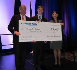 Clarkston scholarship presentation