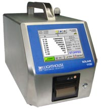 Solair 1100 LD Portable Particle Counter