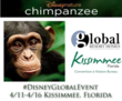Disneynature's CHIMPANZEE event - follow on twitter #DisneyGlobalEvent