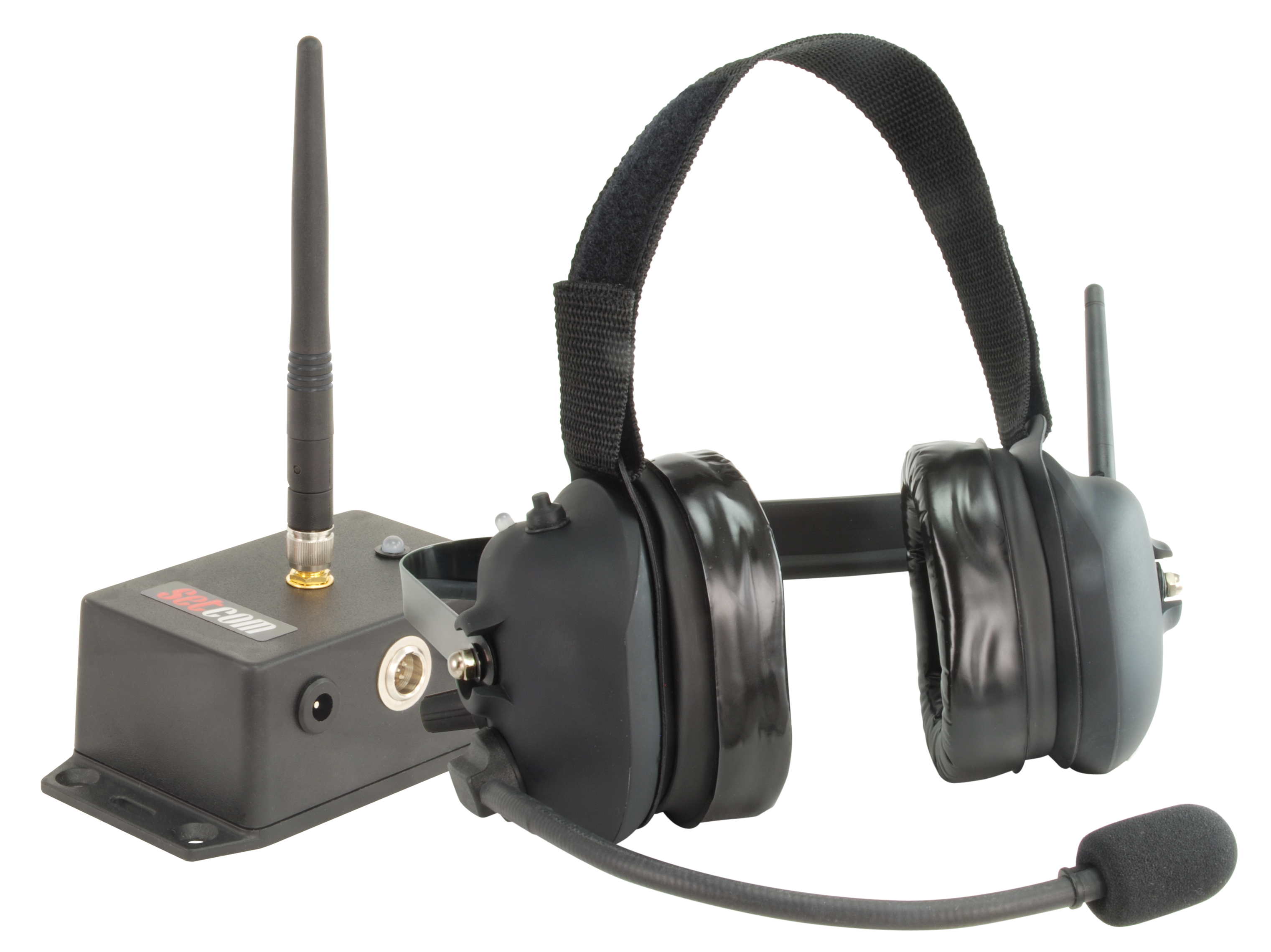 Setcom Releases The First Fire Wireless Headset With