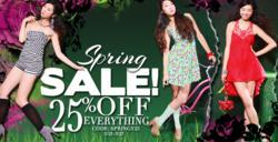 Amiclubwear Spring Sale Banner