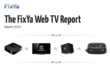 Apple TV or Google TV? New Report from FixYa Reveals Top Consumer Issues With The Most Popular Web TV Systems
