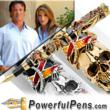 Montegrappa Pens Releases Limited Edition Stallone Gold Fountain Pen for $70K Available Thru PowerfulPens.com