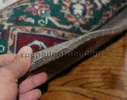 Superior felt noise reduction rug pad