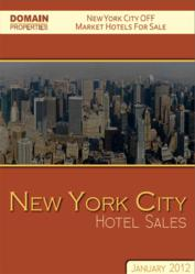 Domain Properties - NYC Hotel Transactions Specialist