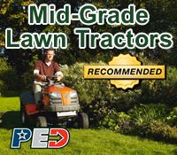 mid-grade lawn tractor, mid-grade lawn tractors