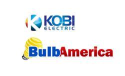 BulbAmerica & Kobi Electronics Logo