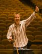 Music Director Paul Goodwin conducting a rehearsal for the Carmel Bach Festival