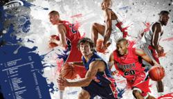 The 2012 Flames Basketball Poster was one of 18 Best In Show selections in the 27th annual Educational Advertising Awards.