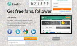 Get free fans, followers and likes
