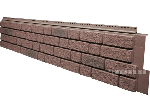 Fauxpanels Com Announces A New Faux Brick Style York Brick Siding