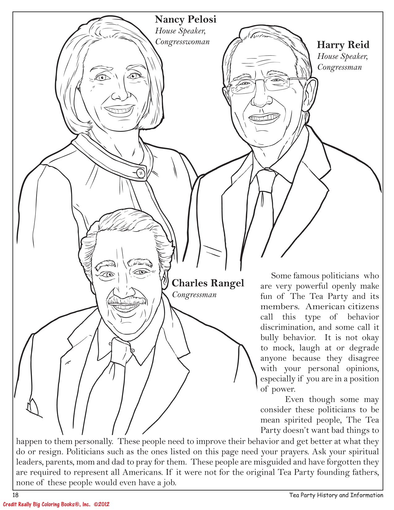 tea party ii why america loves you the social activist coloring