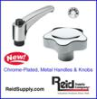 Reid Supply Announces New Knobs and Handles for Harsh Environments