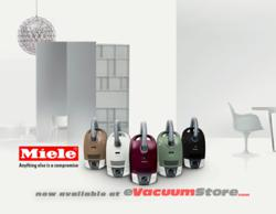 Miele S6 Canister Vacuums