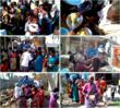 Thane Cyclone Relief in Jan 2012