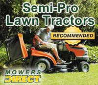 semi pro lawn tractor, semi pro lawn tractors