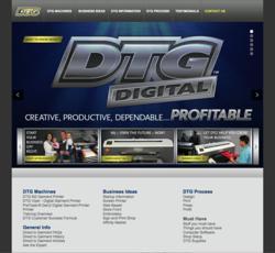 DTG Printer Website