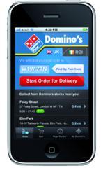 Domino's Pizza Shortlisted In Major UK App Awards