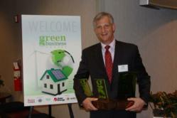 Tom Flottman - CEO Flottman Company receives three (3) Green Business Awards