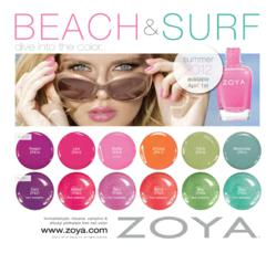Zoya Nail Polish: Beach and Surf Collections