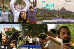 world healing day, world tai chi day, egypt, israel