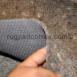 Ultra Premium felt and rubber rug pad for radiant heated floors