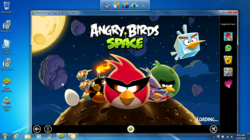Angry Birds Space on PC