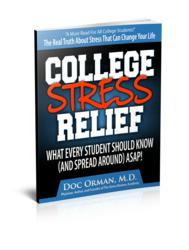 College Stress Relief E-Book