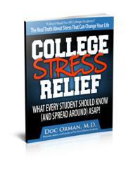 College Stress Relief E-Book
