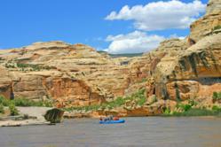 Rafting Yampa River