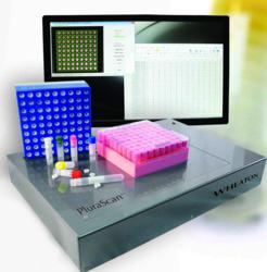 PluraScan for biobanking sample management