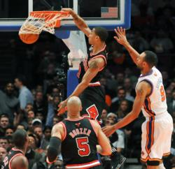 Chicago Bulls Derrick Rose - Jason Szenes Photography
