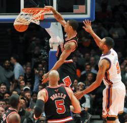 Chicago Bulls Derrick Rose - Jason Szenes Photography