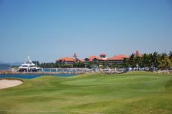 The 27-hole layout at Sutera Harbour, Sabah