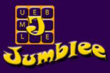Logo for the word game Jumblee Words