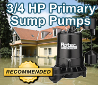 best 3/4 hp sump pump, best 3/4 hp sump pumps, top 3/4 hp sump pump
