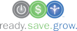 Ready.Save.Grow. campaign logo