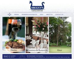drugans, drugans castle mound, the blu group, website design, advertising, marketing, web design