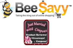 BeeSavy.com partners with JustMarriedWithCoupons.com