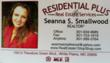 Seanna Smallwood Business Cards