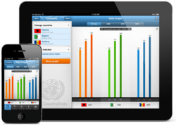 CountryStats for iPad and iPhone