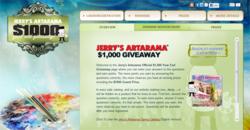 Jerry's Artarama $100 Giveway