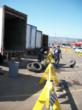 Tire after tire was collected and laced to fill up 7 trailers over the 3 day Tire Recycling weekend event!