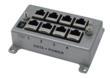 Four port Category 6 gigabit Ethernet PoE Midspan