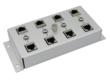 Category 6 Four-port Lightning Protector for Wall or Shelf Mounting