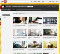 RentSeeker.ca Property Videos on YouTube