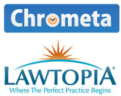 Chrometa Lawtopia Logos