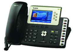 Yealink's T38G Gigabit Color LCD VoIP Phone
