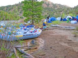 Rafting & Camping Arkansas River