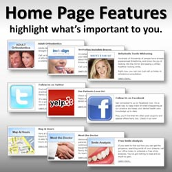 Dental Website Personalization